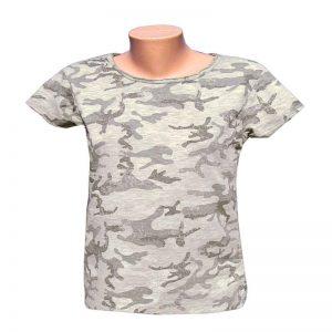 maskáčové tričko dámske